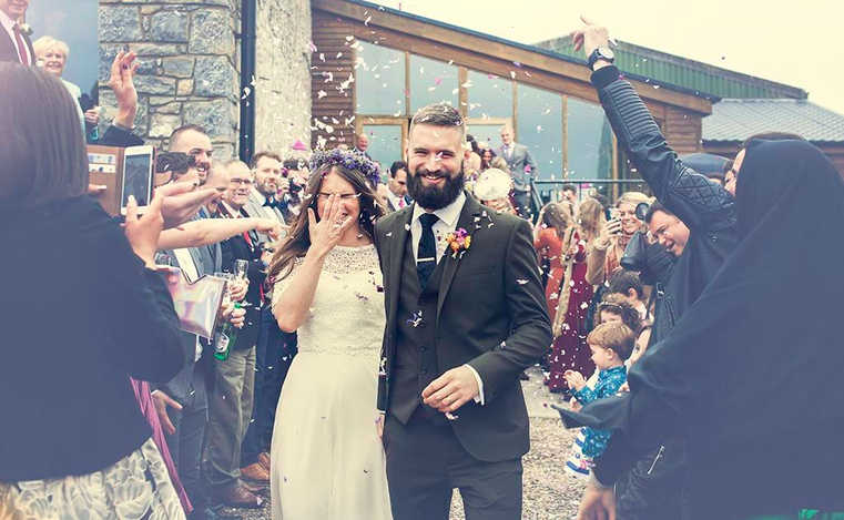 Amy Mark Cardiff just married photo | best wedding photographers in Cardiff