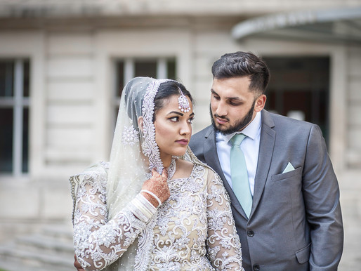Kiran and Faisal - Wandsworth Town Hall, London Asian wedding photography