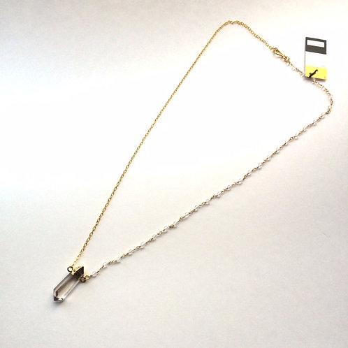 Quartz Pendant on Rosary Chain