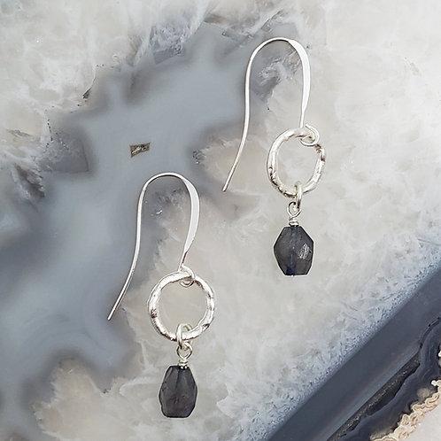 Classic Dangle Gemstone Earrings