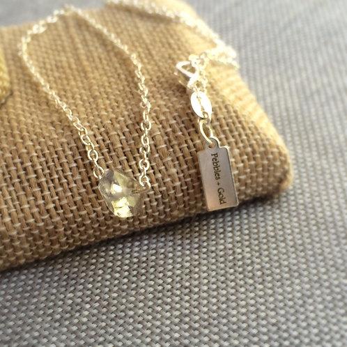 Herkimer Diamond Solitaire