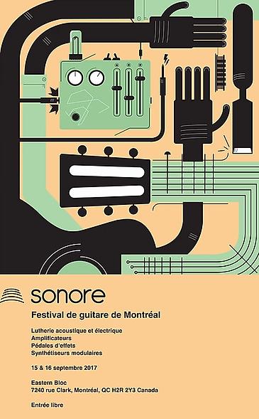 Sonore - festival de guitare de Montréal 2017