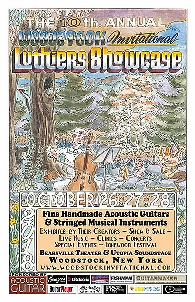 Woodstock Invitational Luthier Showcase 2018