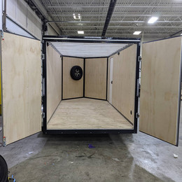 Barn door, translucent roof and optional spare tire & holder