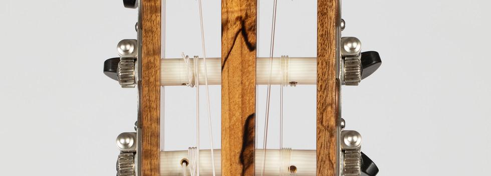 Flamenca blanca #12 - spanish cypress & carpathian spruce