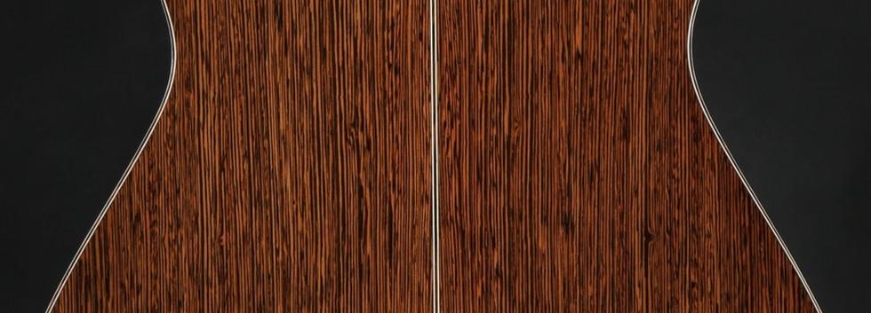 "Small OM #15, ""La Libra"" - wenge & engelmann spruce"