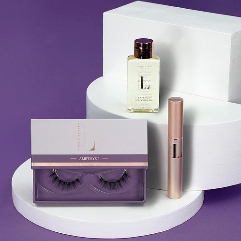 Amethyst Magnetic Eyelash Kit