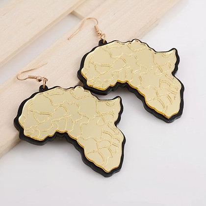 Africa Dangle Earrings