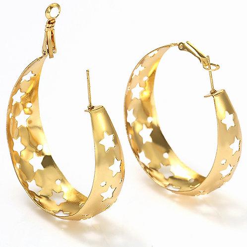 Estrella Hoop Earrings
