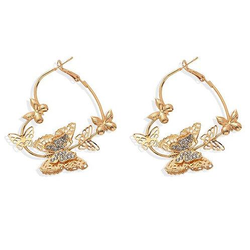 Butterfly Statement Earrings