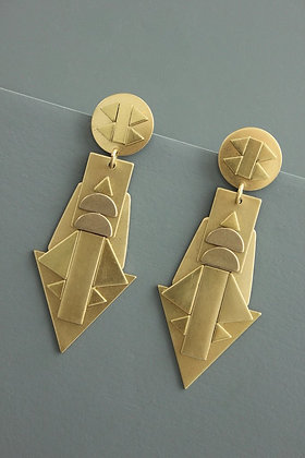Athena Statement Earring