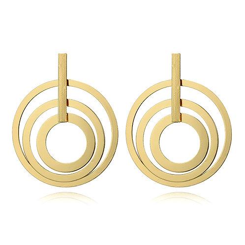 Udona Multi Hoop Earring