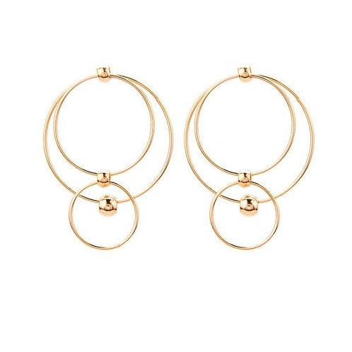 Lissa Multi Hoop Earrings