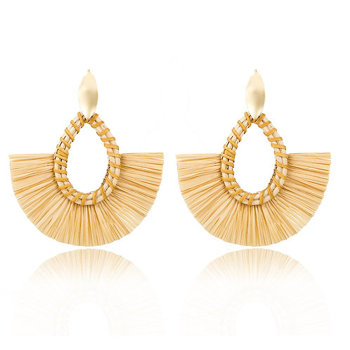 Neicy Fringe Statement Earring