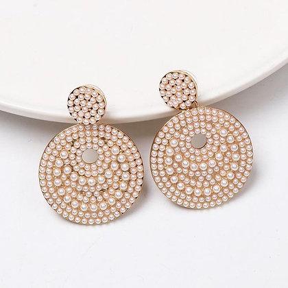Ava Pear Stud Earrings