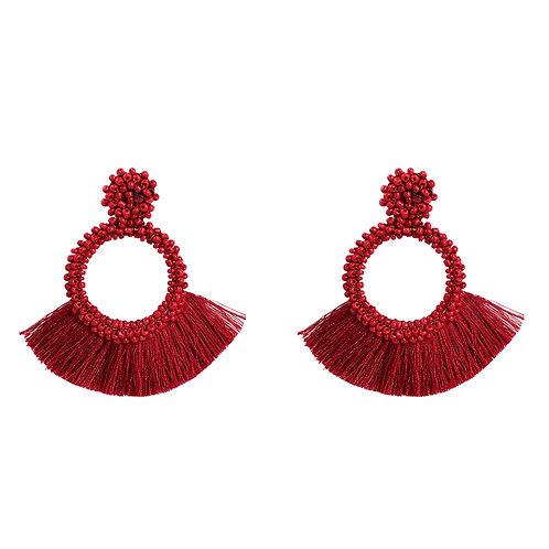 Asena Fringe Earring