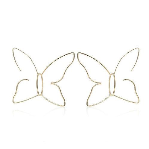 Butterfly Statement Earring