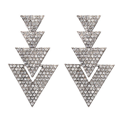 Damia Triangle Stud Earring