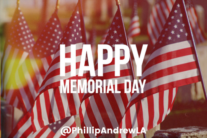 HAPPY MEMORIAL DAY 2018