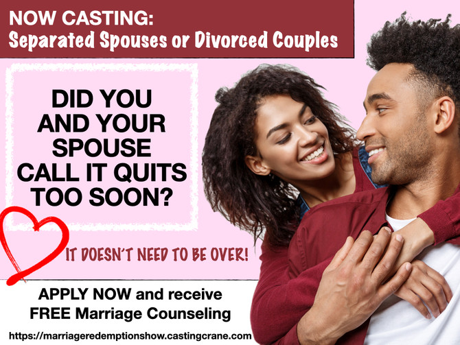 Reality TV Show: Relationship + General Casting