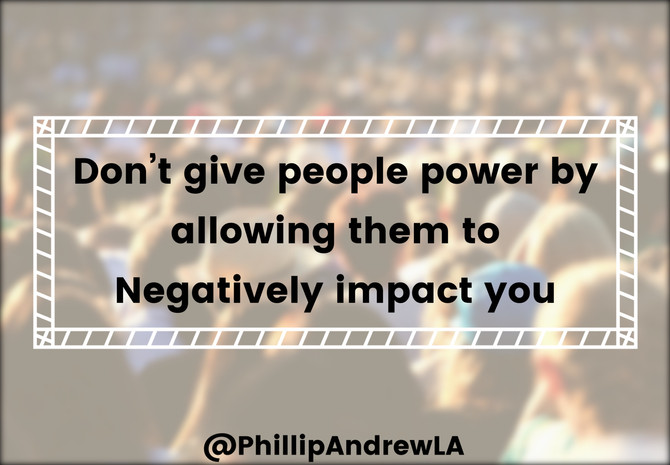 DONT GIVE PEOPLE POWER