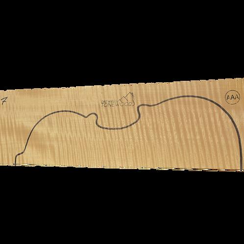 Flamed maple | Violin set No.7