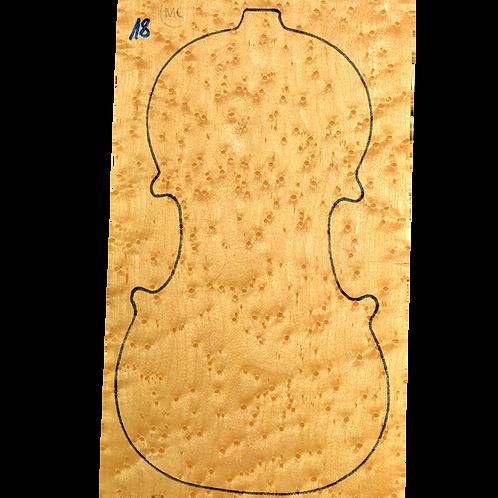 Birdseye maple | Violin set No.18