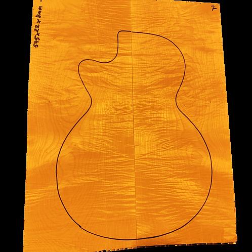 Flamed maple | Guitar drop top No.7