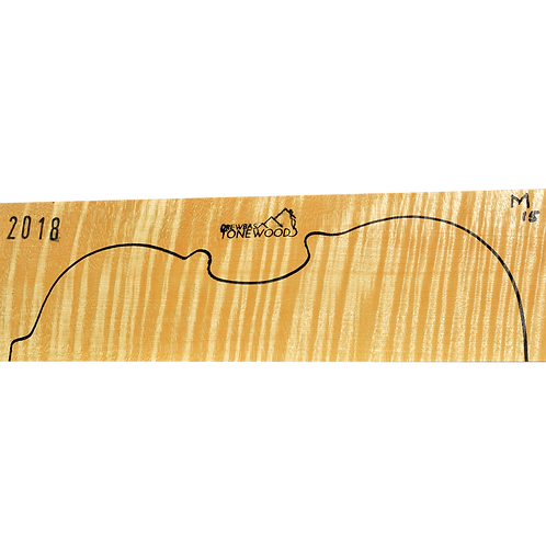 Flamed maple | Violin set No.15
