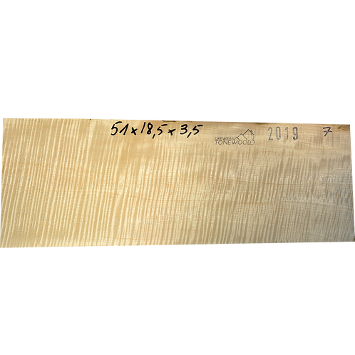 Flamed maple   Guitar blank No.7