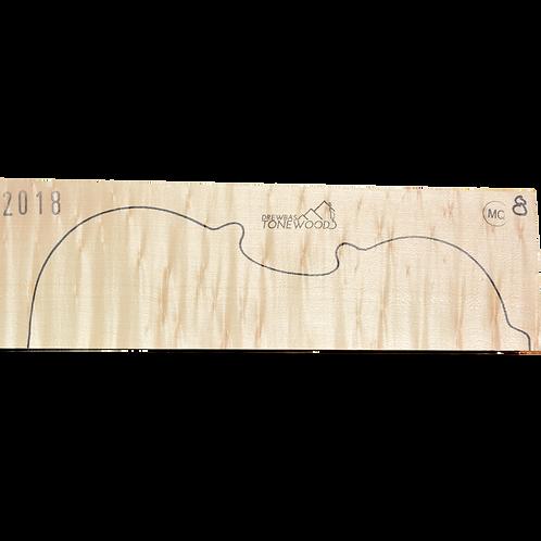 Flamed maple | Violin set No.8