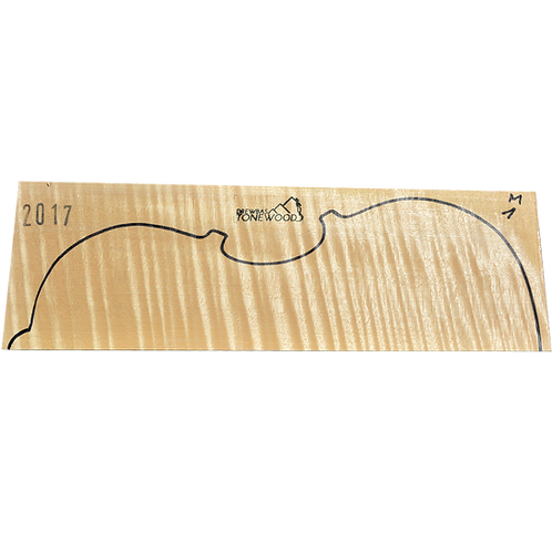 Flamed maple | Viola set No.1
