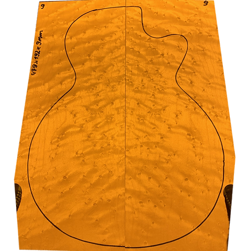 Birdsye Maple | Guitar drop top No.9