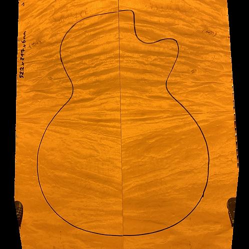 Flamed maple | Guitar drop top No.1