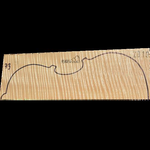 Flamed maple | Viola set No.73