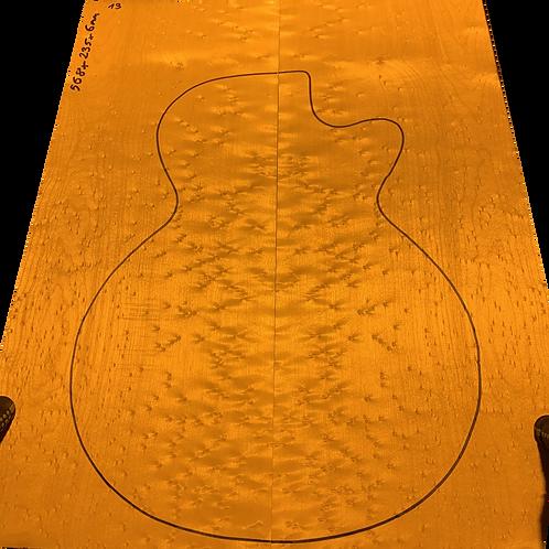 Birdsye Maple | Guitar drop top No.13