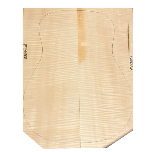 Flamed maple | Acoustic Guitar AAA