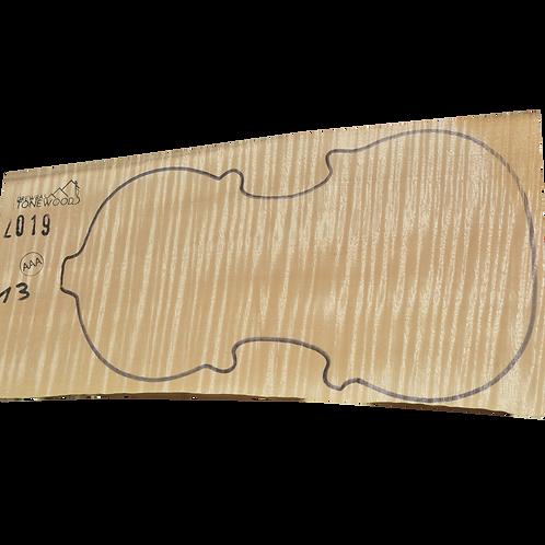 Flamed maple | One Piece Violin set No.13