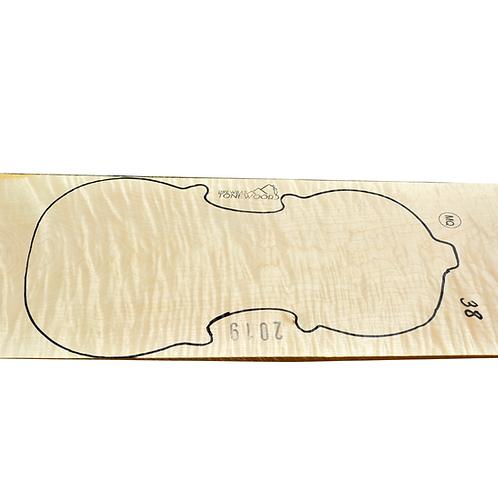 Flamed maple | One Piece Violin set No.38