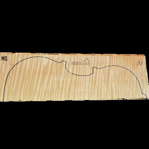 Flamed maple | Viola set No.31 x2