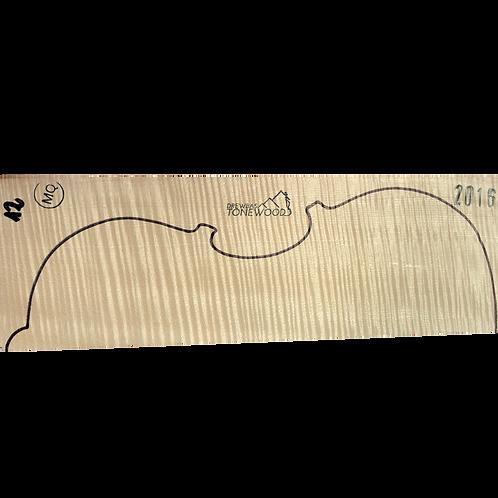 Flamed maple | Viola MQ 2pc set No.12