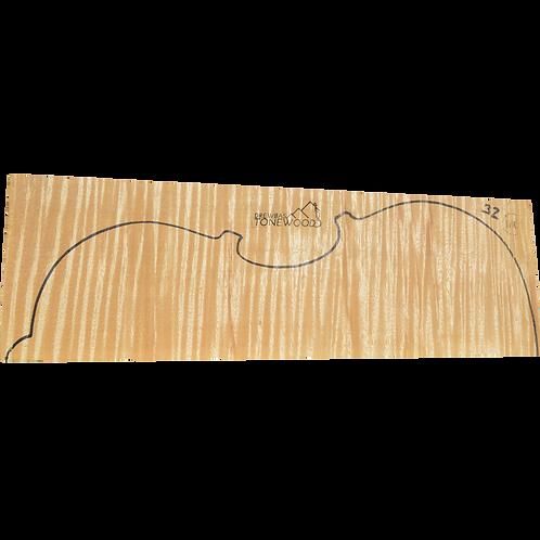 Flamed maple | Viola set No.32