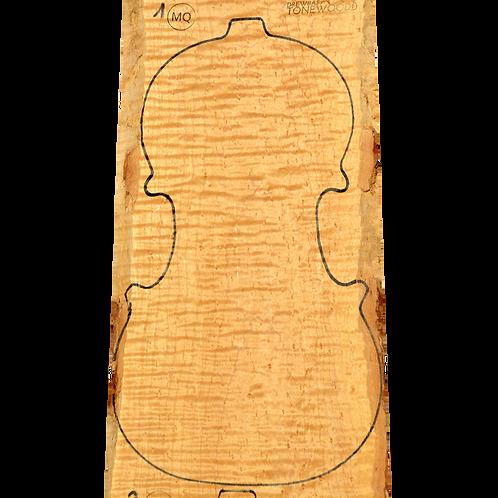 Birdseye maple | Violin set No.1