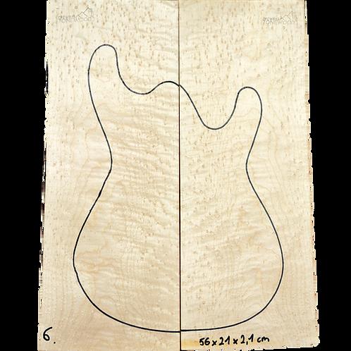 Birdseye maple | Guitar Top No.6