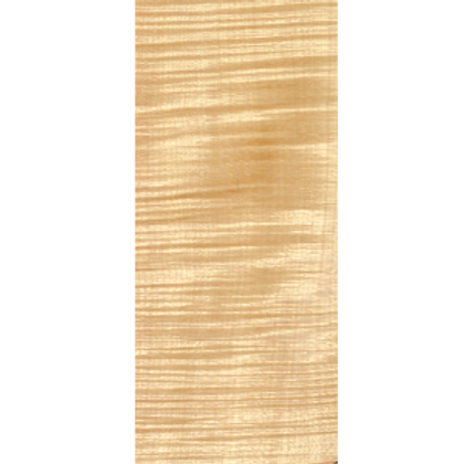 Flamed Maple   E-Bass neck in AAA