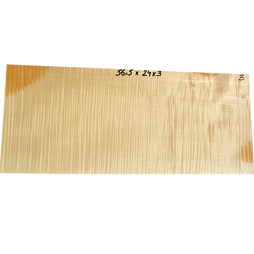 Flamed maple | Guitar blank No.3