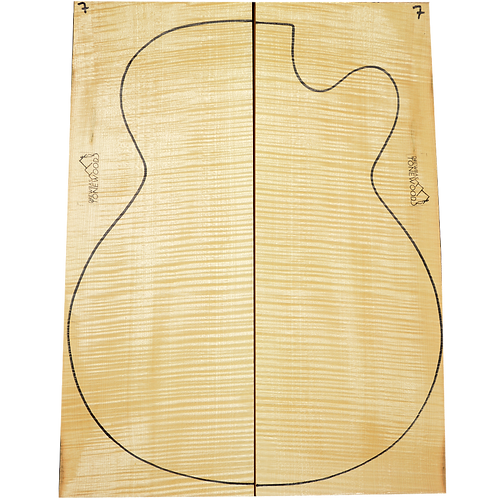 Archtop Jazz guitar back + sides No.7