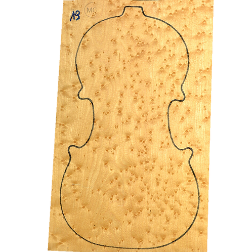 Birdseye maple | Violin set No.19