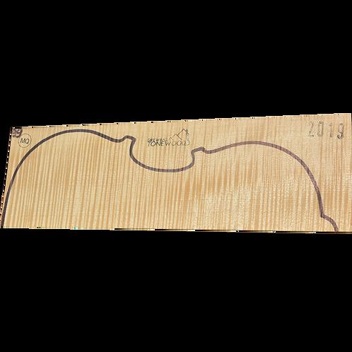 Flamed maple | Viola set No.99