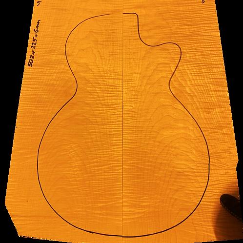 Flamed maple   Guitar drop top No.5